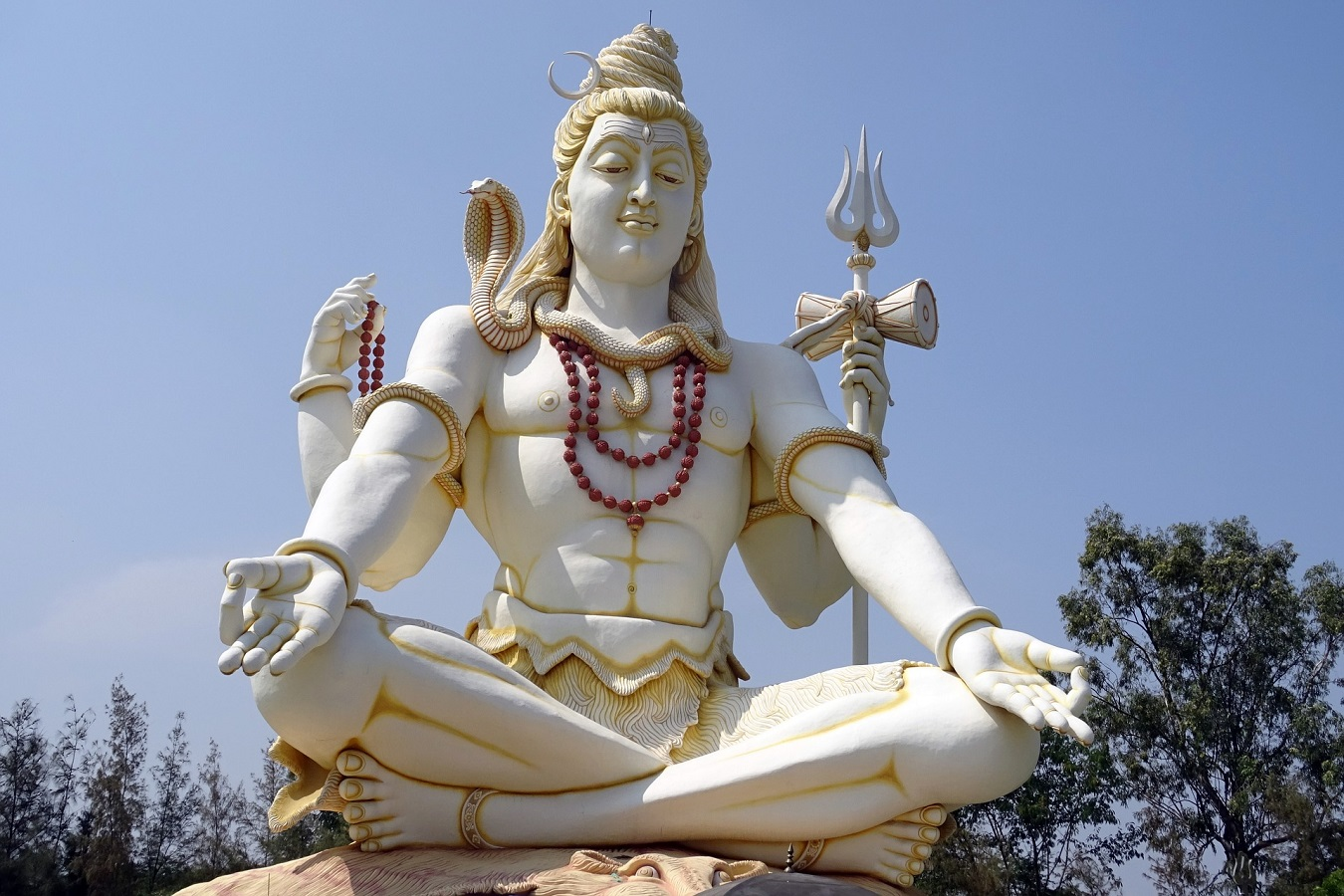 Lord Shiva Statue | Beautiful big statue of Lord Shiva