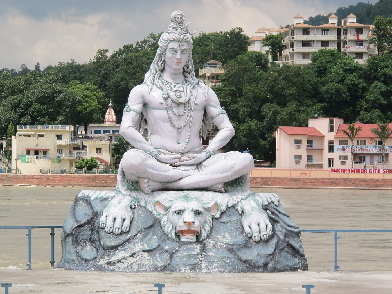 Lord Shiva Moorti in Rishikesh